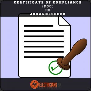 Certificate Of Compliance CoC In Johannesburg