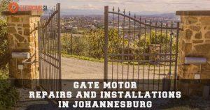 Gate Motor Installers And Repairs