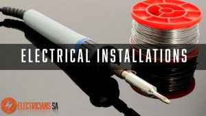 Electrical Installations Services, solder and iron, electrician tools