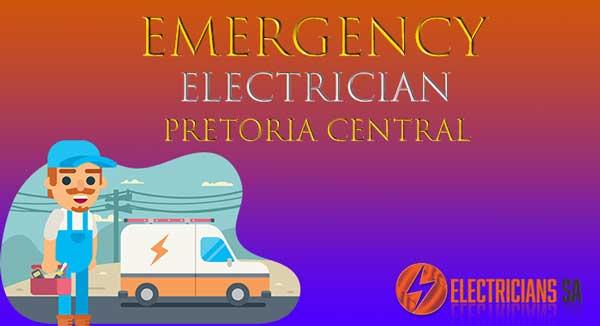 Emergency Electrician Pretoria Central Electricians-SA